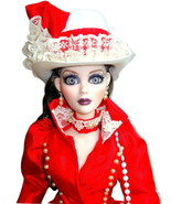 "Evangeline Ghastly + OOAK Collet-Art Seeing Red Tonner 18.5"" Doll Dark A... - $244.95"