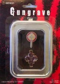 Gungrave Cross and Graves Pins Set of 2 Brand NEW!