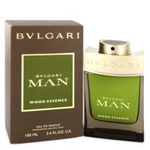 Bvlgari Man Wood Essence 3.4 Oz Eau De Parfum Cologne Spray image 1