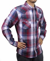 NEW LEVI'S MEN'S CLASSIC COTTON CASUAL BUTTON UP LONG SLEEVE PLAID 3LYLW6072 image 2