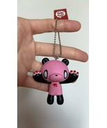 Gloomy Bear Panda Pink Black Color Keychain Keyholder Figure Toy Mori Ch... - $11.92