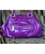 Marc Jacobs Violet Patent Leather Stam $1,350++ - $499.99