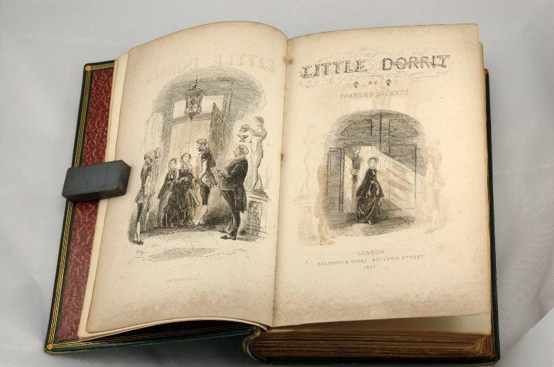 """Charles Dickens """"Little Dorrit"""" -- 1st Edition"""