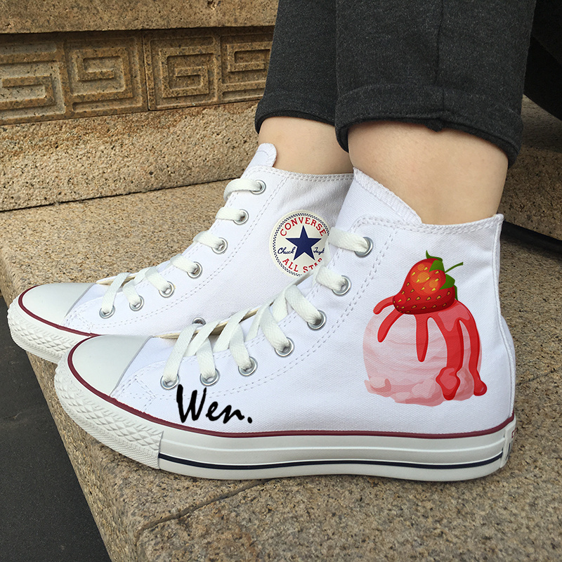 e9ca6dd880a2 Converse Original Design Strawberry and 50 similar items