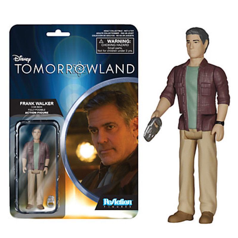 Disney Frank Walker ReAction Figure Tomorrowland 3 3/4'' by Funko New with Box
