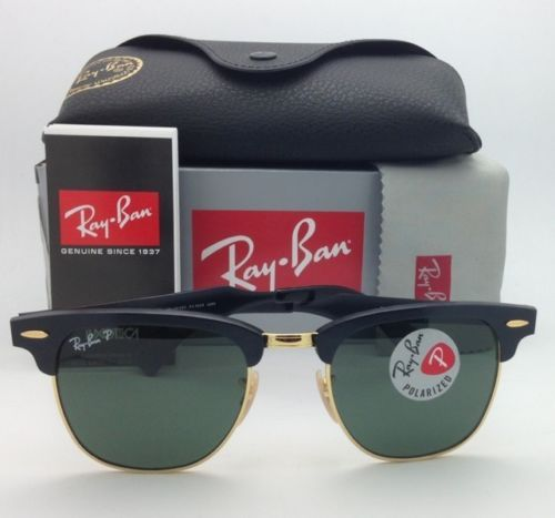 47ded914e7c4e Polarized Ray-Ban Sunglasses CLUBMASTER RB 3507 136 N5 49 ...