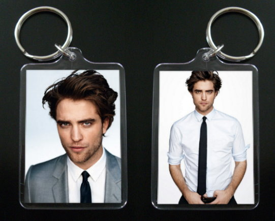 ROBERT PATTINSON keychain keyring EDWARD CULLEN Twilight #4