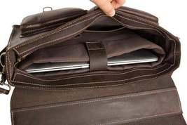 Sale, HandMade Leather Laptop Bag, Leather Briefcase, Business HandBag, Men's Me image 5