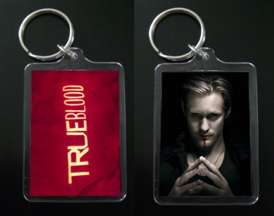 Primary image for TRUE BLOOD keychain ERIC NORTHMAN Alexander Skarsgard #2
