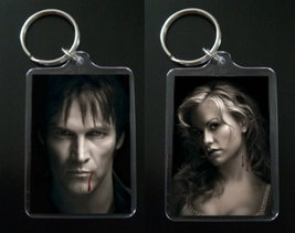 TRUE BLOOD keychain BILL COMPTON & SOOKIE STACKHOUSE #1 - $7.99