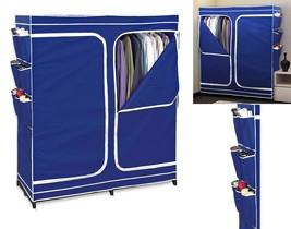 Double Door Closet Season Storage wardrobe organizer Easy Zip Breathable... - $47.51
