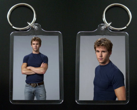TRUE BLOOD keychain JASON STACKHOUSE Ryan Kwanten #1