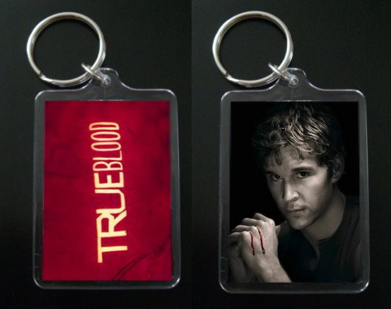 TRUE BLOOD keychain JASON STACKHOUSE Ryan Kwanten #2 - $7.99