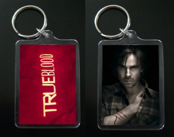 TRUE BLOOD keychain SAM MERLOTTE Sam Trammell #2