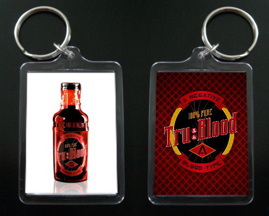 TRUE BLOOD keychain SOOKIE STACKHOUSE Charlaine Harris #1