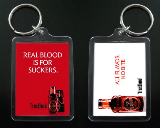TRUE BLOOD keychain SOOKIE STACKHOUSE Charlaine Harris #2