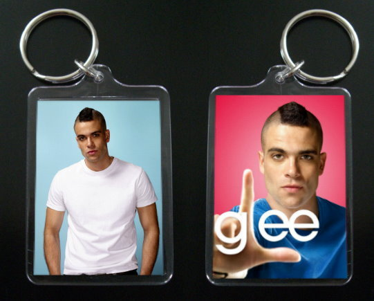 Primary image for GLEE keychain / keyring PUCK Mark Salling #1