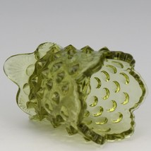Vintage Fenton Art Glass Colonial Green Hobnail Toothpick image 2