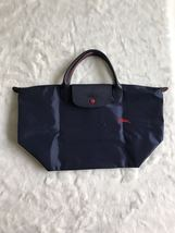 Longchamp Club Collection Horse Embroidery Short Handle Medium Handbag N... - $95.00
