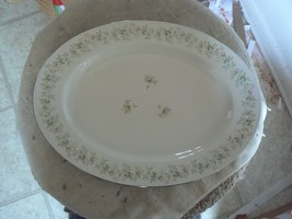 Johann Haviland Forever Spring 12 3/4 oval platter 1 available - $11.58