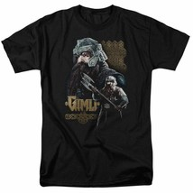 The Lord of the Rings trilogy Gimli Dwarf Warrior graphic t-shirt LOR1009 image 1