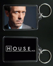 HOUSE MD keychain / keyring HUGH LAURIE Dr Greg House #1 - $7.99
