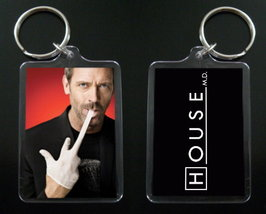 HOUSE MD keychain / keyring HUGH LAURIE Dr Greg House #6 - $7.99