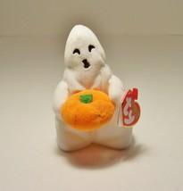 Ty Beanie Baby Halloweenie Beanies Ghoul Ghost Pumpkin 2006 - $4.99