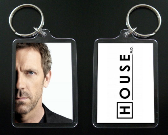 HOUSE MD keychain / keyring HUGH LAURIE Dr Greg House #5