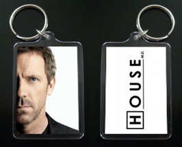 HOUSE MD keychain / keyring HUGH LAURIE Dr Greg House #5 - $7.99