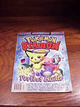 N64 Pokemon Stadium 2 Perfect Guide Strategy Book for Nintendo 64 - $8.95