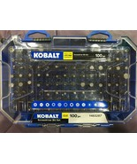 Kobalt  - 101464 - 100-Piece 1-in Steel Hex Shank Screwdriver Bit Set - $29.65