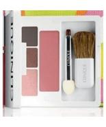 Clinique Colour Surge Eye Shadow Trio / Like Mink Duo, Pink Chocolate Qu... - $12.99