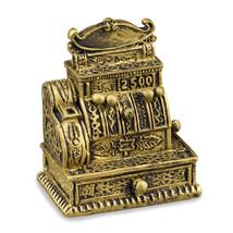 Dollhouse -Antique- Cash Register Reutter 1.462/5 Miniature - $11.45