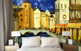 3D Malerei in der Stadt 40 Fototapeten Wandbild Fototapete BildTapete Familie DE - $52.21+