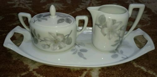 Primary image for ROSENTHAL Bavaria  POMONA creamer/sugar and tray