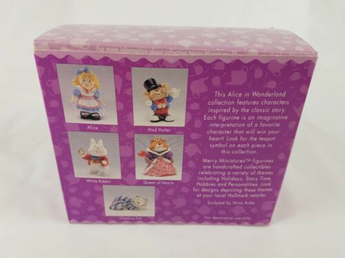Hallmark Merry Miniatures Alice in Wonderland 5 Piece Set Lot image 6