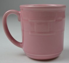 Longaberger Pottery Mug Woven Traditions Pink Horizon Of Hope Collectible China - $24.99