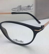 New SILHOUETTE Eyeglasses SPX 1578 75 9020 56-16 135 Black & Bronze Frames image 7