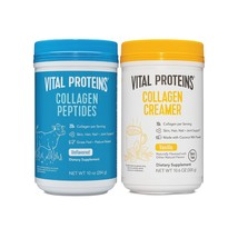 Vital Proteins Collagen Peptides 10oz and Collagen Cream (2 - $66.27