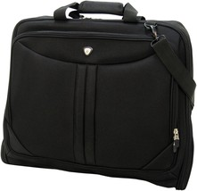 Olympia Vector Deluxe Garment Bag Carrier Suit Black or Gray Folding  44... - $1.431,43 MXN