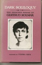 Dark soliloquy: The selected poems of Gertrud Kolmar [i.e. G. Chodziesner] (A Co image 2