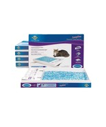 6 Cat ScoopFree Self Cleaning Litter Boxes and ScoopFree Slide Blue Crys... - £87.05 GBP