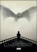 Game of Thrones Season 5 Promo Tyrion and Drogon Refrigerator Magnet NEW... - $3.99
