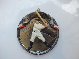 Vintage Hallmark 1995 Baseball Heroes #2 - Lou Gehrig Christmas Ornament - $11.26