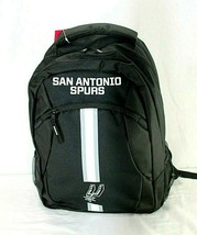 San Antonio Spurs NBA Backpack Black FOCO Action - $34.99