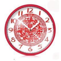 PANDA SUPERSTORE 12-inch China Arts of Folk Paper-cutting Decorative Wall Clock - $77.32