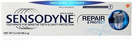 Sensodyne Repair and Protect Sensitivity Toothpaste for Sensitive (3.4 O... - $11.13