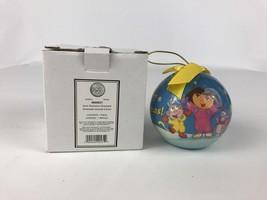 Dora the Explorer Merry Christmas Feliz Navidad Holiday Ball Ornament 20... - $9.97