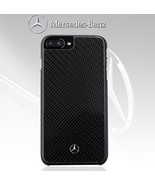 Mercedes-Benz Carbon Fiber Hard Case + Zagg Tempered Glass for iPhone 7,... - $57.01